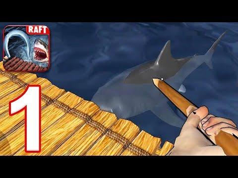 RAFT: Original Survival Game - Gameplay Walkthrough Part 1 (iOS, Android)
