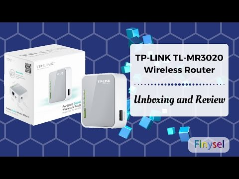 TP Link TL MR3020 Router Unboxing and Review | Wi-Fi Hotspot All Rounder