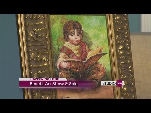 studio10: Benefit art show and sale goodwill