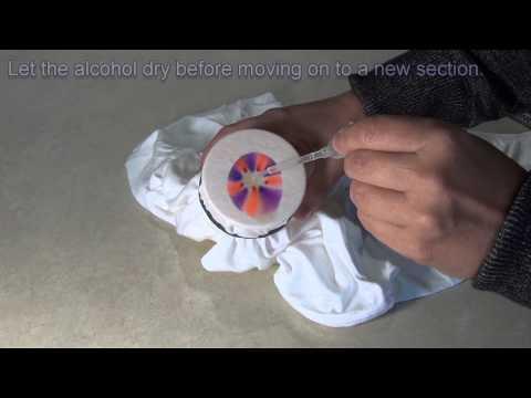 Easy Sharpie Tie Dye Science Project