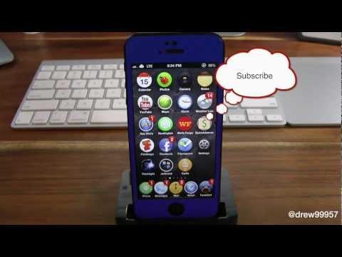 How to Make Your iCon Bounce iPhone5 iPad mini Cydia Tweak