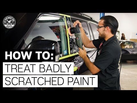 How To Treat Really Deep Scratches! - Nissan Armada - Chemical Guys
