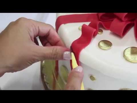 Gift Box Cake - CAKE HUB