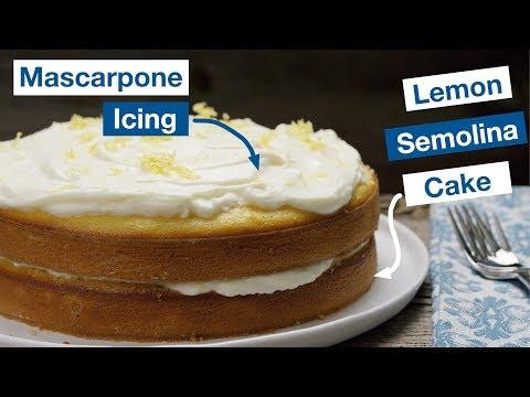 Perfect Lemon Semolina Cake    Le Gourmet TV Recipes