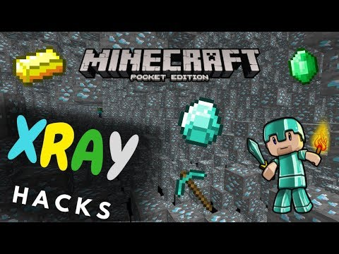 X-Ray Hacks For MCPE/Windows 10! (Works On Servers) | Minecraft