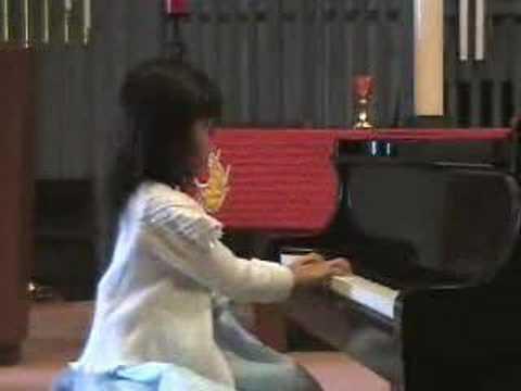 Elysha's Piano Recital 2008-05-04