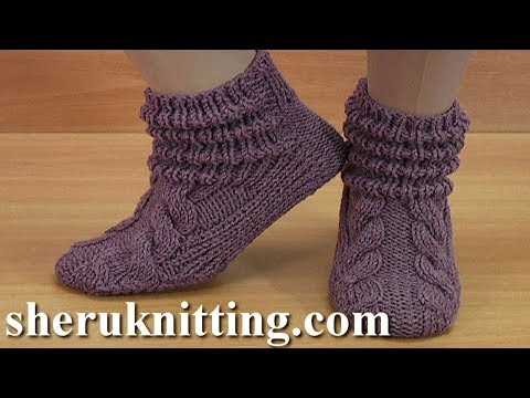 How to Knit Rollled Stitch  Socks Tutorial 198