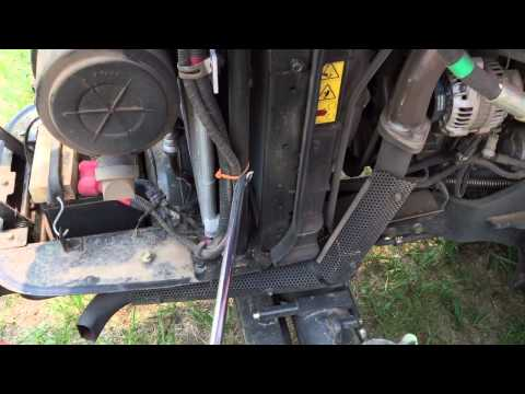 Tractor radiator cleaning tip: Radiator Genie