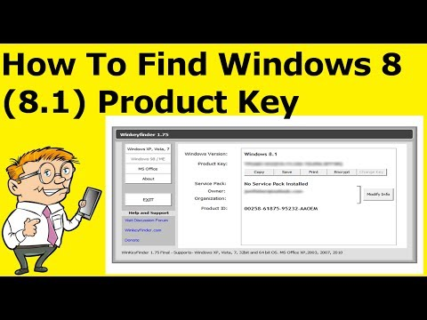 How To Find Windows 8 (8.1) Product Key On Computer (Guide)