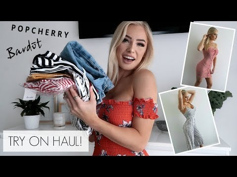 TRY ON CLOTHING & ACCESSORIES HAUL 2018 | Alex Prout