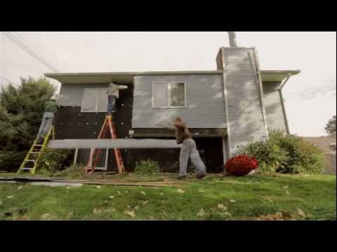 Siding the House Timelapse