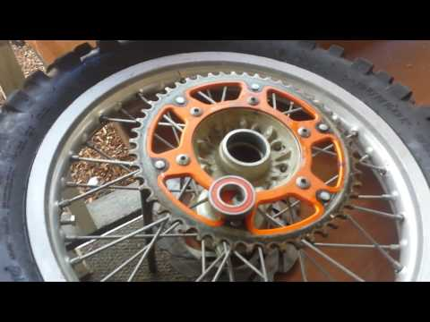 Ktm wheel bearing replacement spacer issue