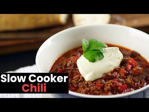 Amazingly Good Slow Cooker Chili
