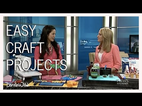 Easy Project Ideas For National Craft Month (CTV News At Noon)