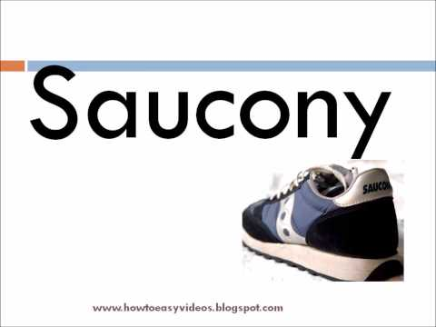 How to pronounce / say the brand name Sacouny