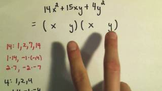 Factoring Trinomials By Trial And Error Ex 2