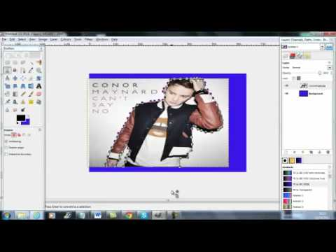 How to Crop an image in Gimp 2 (Easy way)