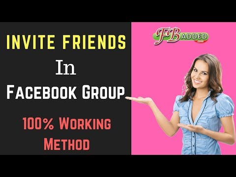 Invite All Friends In Facebook Group Just One Click - 100% Working Method