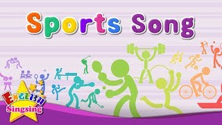 Sports Song - Educational Children Song - Learning English Sports for Kids