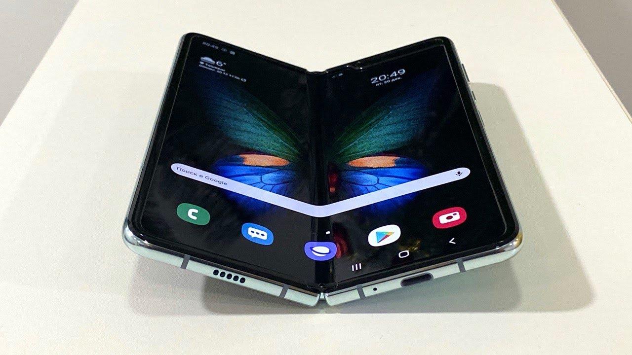 Samsung Galaxy FOLD! O'zbekistonda yagona!