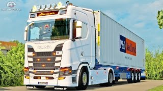 ETS2 Scania S730 V8 Stock sound mod Napoli-Bari! Country roads