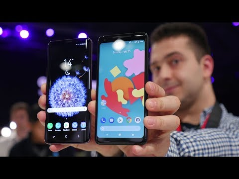 Samsung Galaxy S9+ vs Google Pixel 2 XL: first look
