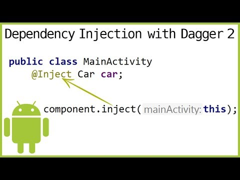 Dagger 2 Tutorial Part 3 - FIELD INJECTION - Android Studio Tutorial