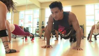 Mario Lopez Does High Intensity Workout STRONG by Zumba®