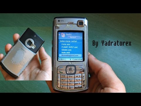 Nokia N70 retro review (old ringtones and others)