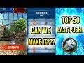 CAN WE MAKE IT??? TOP 50 LAST PUSH!   Jurassic World Alive Tournament Battles