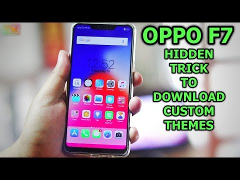 Oppo F7 Hidden Trick To Change Custom Themes