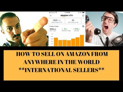 How to Sell On Amazon As An International Seller-Amazon FBA