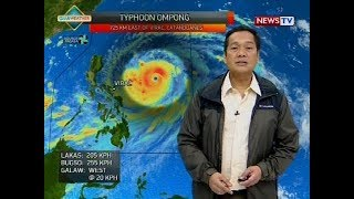 Weather update as of 4:20 p.m. (September 13, 2018)