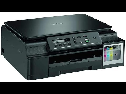 Brother DCP-T300 Multi-Function Ink Tank Colour Printer Unboxing and review