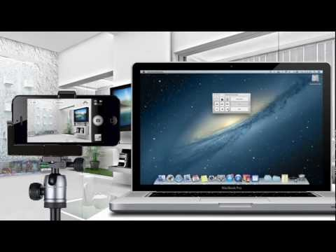 How to Control iPhone, iPod, iPad CAMERA SHUTTER from MAC | iOS 5.0+