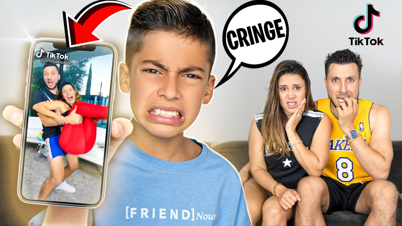 Ferran REACTS To His Parent's CRINGY TIKTOKS! (EMBARRASSING) | The Royalty Family
