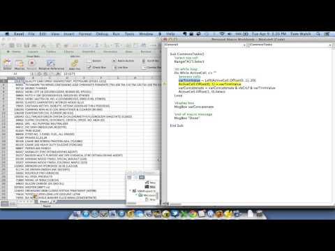 Excel for Mac VBA Do While Loop Macro