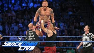 Heath Slater & Rhyno vs Headbangers - Tag Team Title Tournament Match: SmackDown Live, Aug. 30, 2016