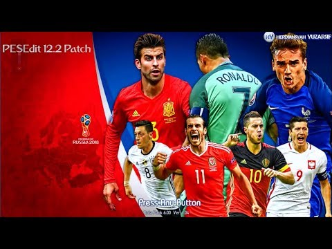 PES 2013 [PESEdit 12.2 Patch Update] - Special FIFA World Cup Russia 2018 [Baru]