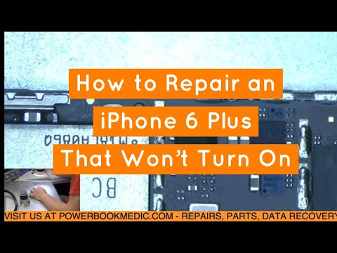 iPhone 6 Plus Won't Turn On  - How to Repair with Tristar Replacement