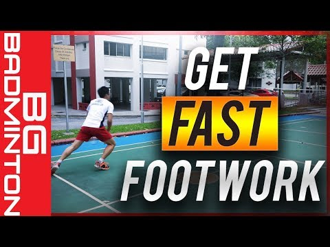 MUST LEARN Attacking Footwork for Badminton