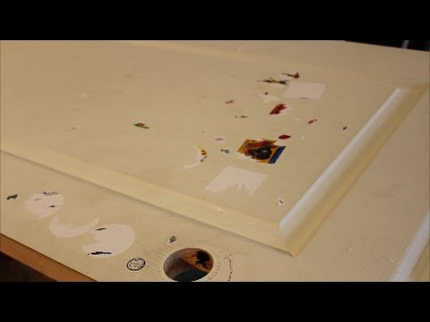 Stripping Stickers & Paint from Wood
