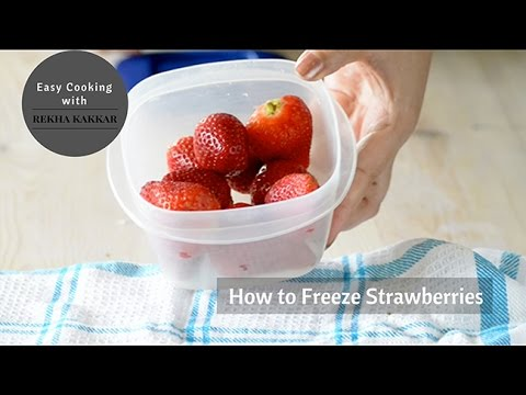 How to Freeze Strawberries - How to Store Strawberries for Longer Time