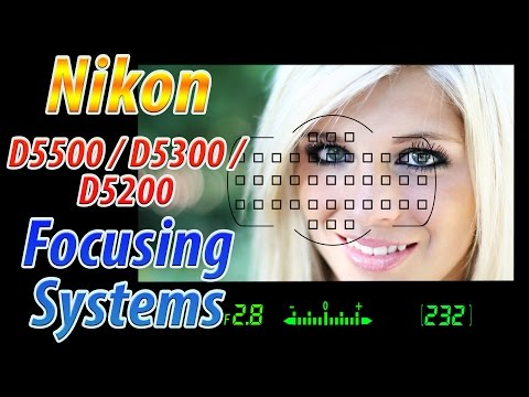 Nikon D5500 / D5300 / D5200 Focus Square Tutorial | How to Focus Training Video