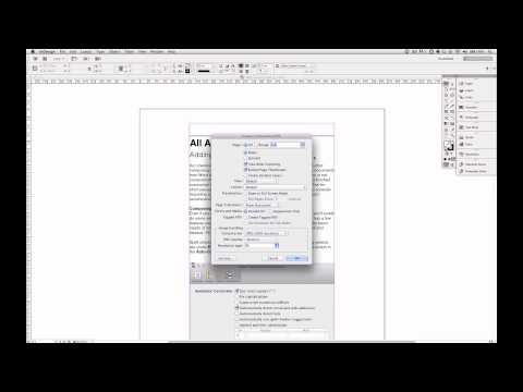 Export a PDF format digital book from Adobe InDesign CS6
