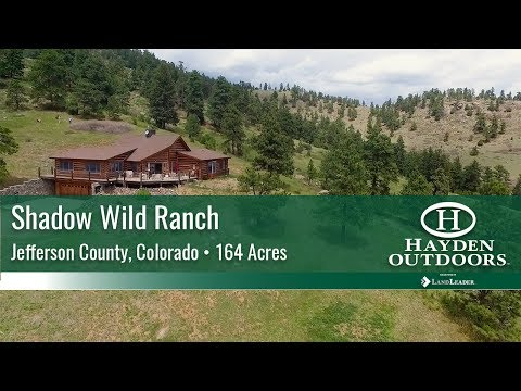 HISTORIC COLORADO MOUNTAIN HOME AND RANCH FOR SALE - SHADOW WILD RANCH