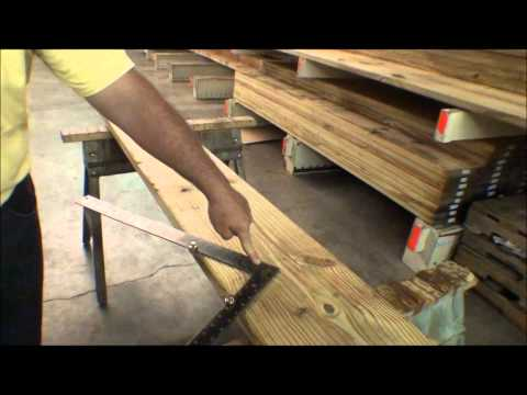 The Deck Store - How to Cut Stair Stringers