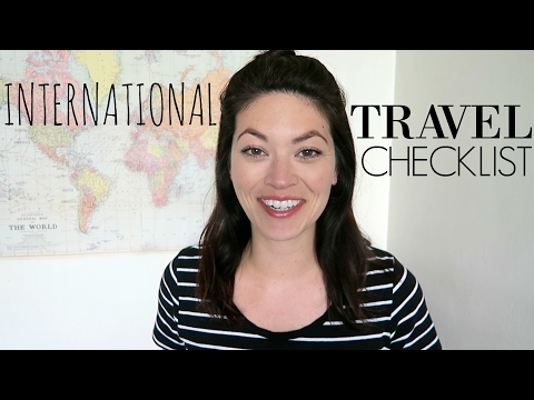 14 THINGS TO DO BEFORE INTERNATIONAL TRAVEL