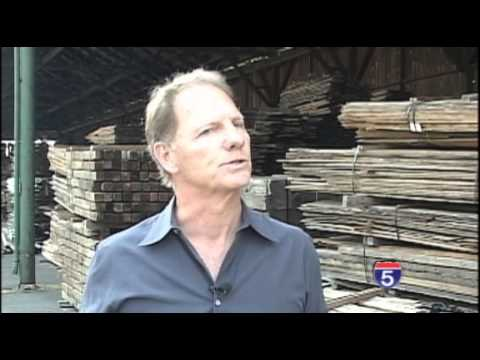 Reclaimed Wood Company Reclaims Old Timber Mill - Aug 12th, 2013
