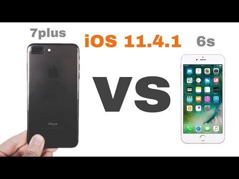 iPhone 7 plus vs iPhone 6s on iOS 11.4.1 speed test | iSuperTech